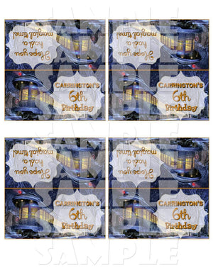 Printable Polar Express Treat Bag Toppers (Digital File Only)-Digital Download-Forever Fab Boutique