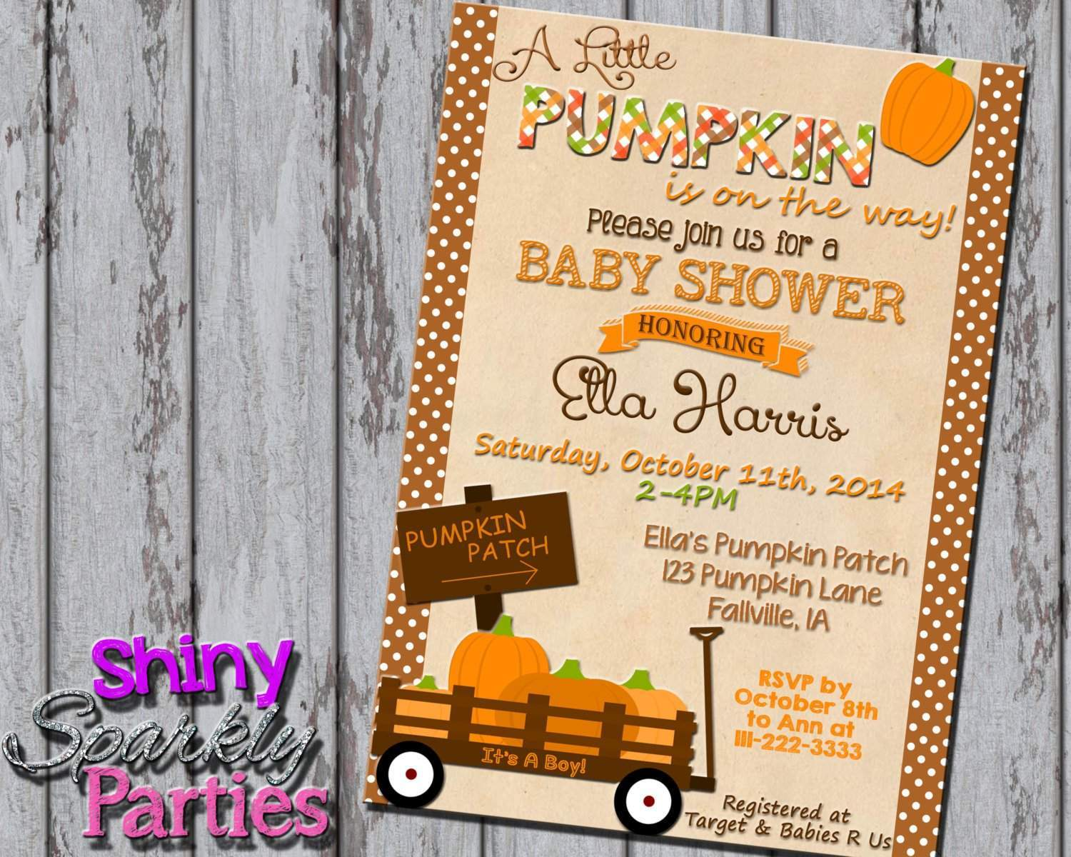 Baby Shower - Forever Fab Boutique