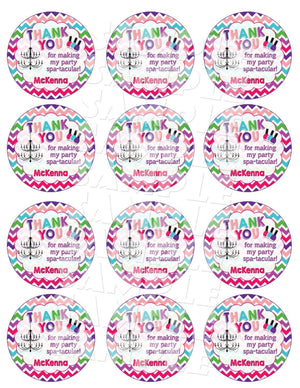 Printable Spa Birthday Party Favor Tags (Digital File Only)-Digital Download-Forever Fab Boutique