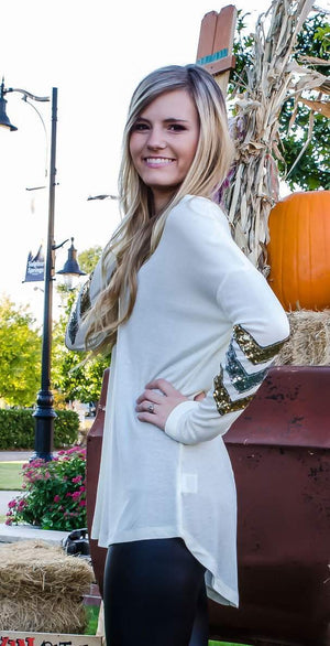 Shake It Off Tunic Ivory-Top-Forever Fab Boutique