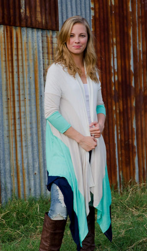Swept off her feet Cardigan-Top-Forever Fab Boutique