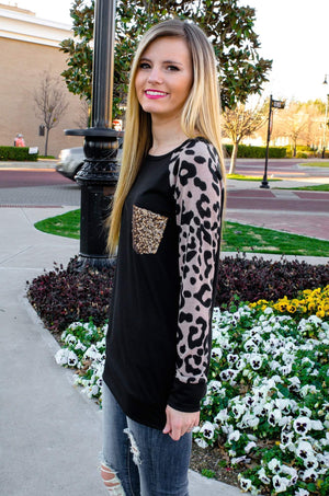 Wild And Fierce Leopard Print Top-Top-Forever Fab Boutique