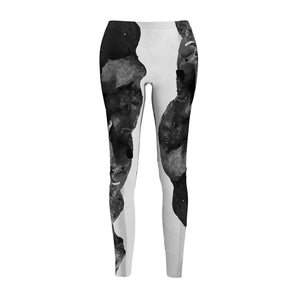 Wild Elephant leggings-All Over Prints-Forever Fab Boutique