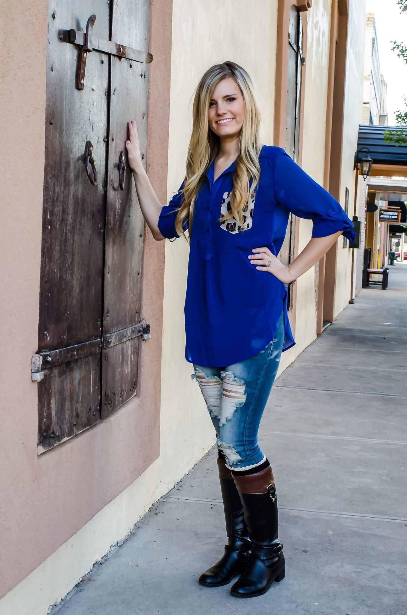 a9dc256f5312b Wildest Dreams Top Royal Blue-Top-Forever Fab Boutique