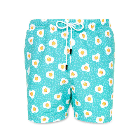 98 Coast Av Breakfast Trunks Aqua