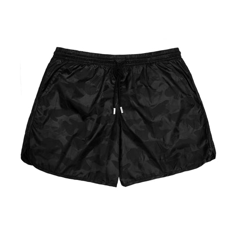 98 Coast Av Camouflage Trunks Black