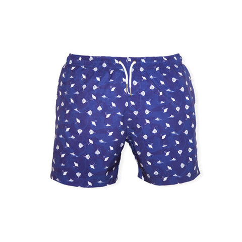 Bermies Classics Sea Ray Trunks Blue