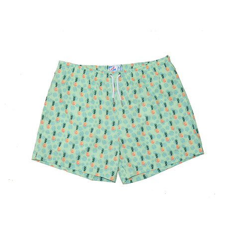 Bermies Originals Pineapple Vibes Trunks Green