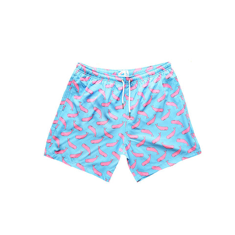 Bermies Trunks Whale Pink Classics