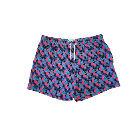 Bermies Originals Retro Pineapple Trunks Blue
