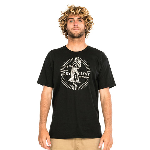 Body Glove Hip Shaker Tee Black