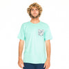 Body Glove Rabbit Island Tee Green