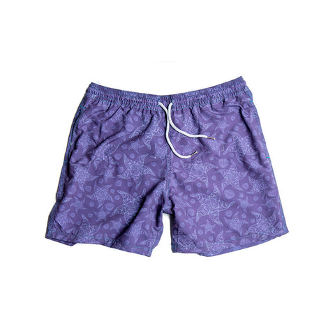 Estivo Trunks Starfish Purple