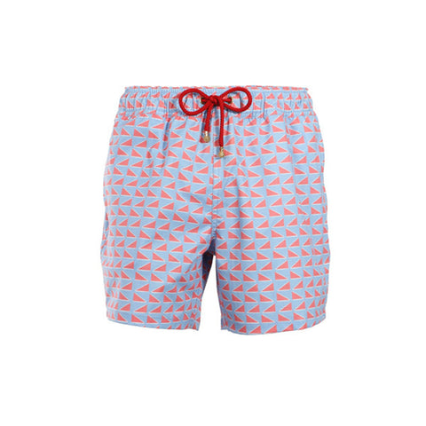 Mazu Swimwear Trunks Ming Dynasty Blue