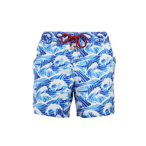 Mazu Swimwear Trunks Pacific Ocean Blue