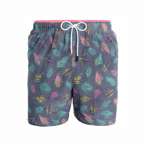 98 Coast Av Neon Palms Trunks Grey
