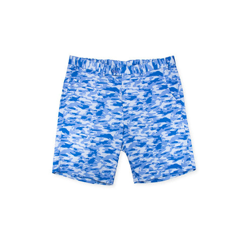 Strong Boalt Hybrid Shorts Camo Blue