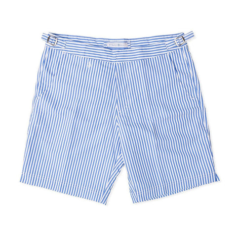 Strong Boalt Hybrid Shorts Blue Stripes