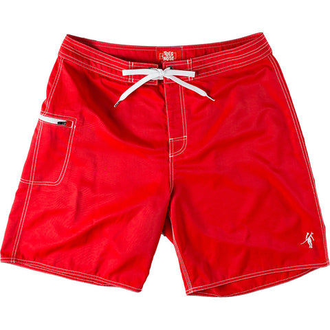 Toes on the Nose Blackies Boardshort Red