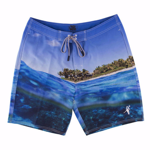 Toes on the Nose Cloudbreak Boardshort Ocean