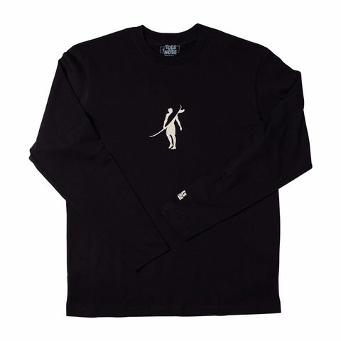 Toes on the Nose Dawn Patrol L/S Tee Black