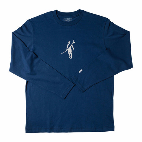 Toes on the Nose Dawn Patrol L/S Tee Blue