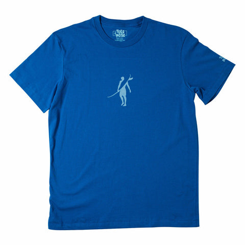 Toes on the Nose Dawn Patrol Tee Blue
