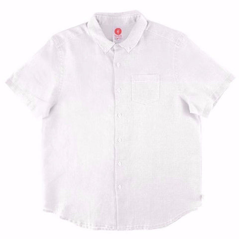 Toes on the Nose Hamptons S/S Button Down White