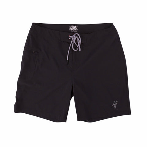 Toes on the Nose Jaws Boardshort Black