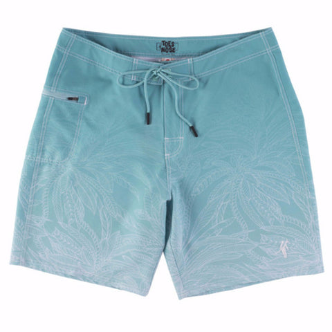 Toes on the Nose Pier Stretch Boardshort Aqua