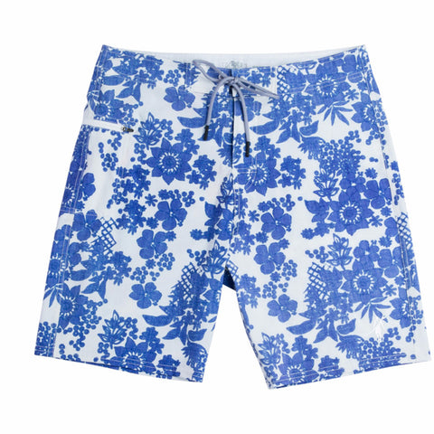Toes on the Nose Soaker Stretch Boardshort Blue