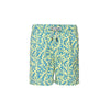 Tom & Teddy Trunks Coral Lime & Blue