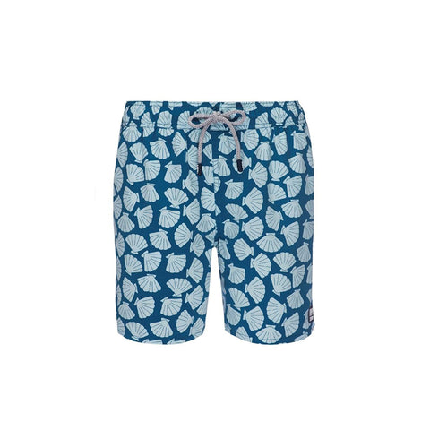 Tom & Teddy Shell Trunks Blue