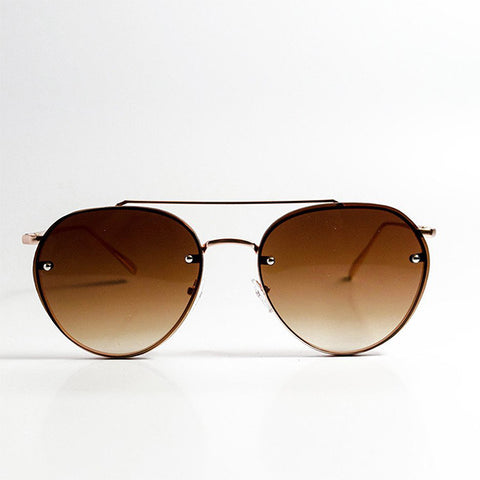 YHF Blends Gold Sunglasses