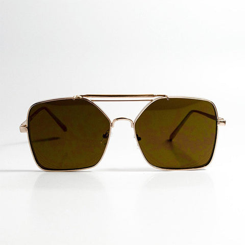 YHF Trent Gold Sunglasses