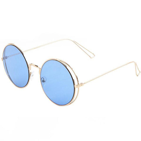 YHF Wavy Gold Sunglasses