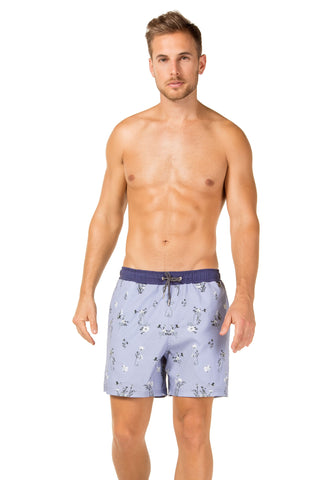 Agua Bendita Joe Eve Trunks Blue