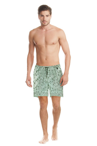 Agua Bendita Joe Daybreak Trunks Green