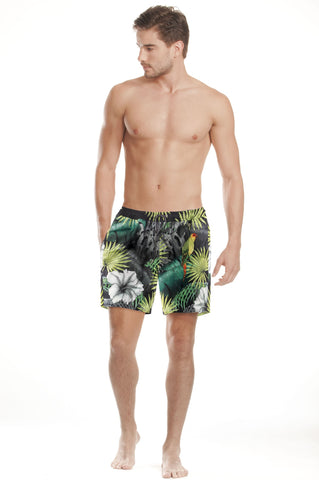 Agua Bendita Joe Tropic Trunks Black