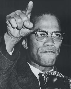 Malcolm X Photograph