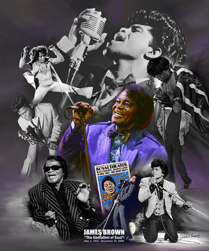 James Brown; The Godfather of Soul - Adelani Treasures
