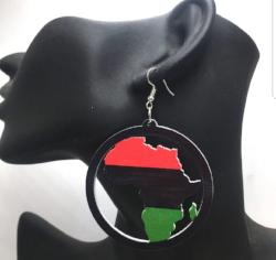 RBG Africa Earrings - Adelani Treasures