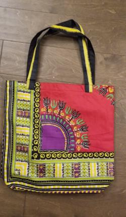 Medium Dashiki Print Tote