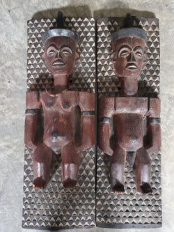 Congolese Male and Female Scupture set