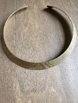 Brass Choker - Adelani Treasures