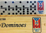 Puerto Rico Dominoes Music Instruments and Flag Dominoe - MyBorinquen.com Web Store