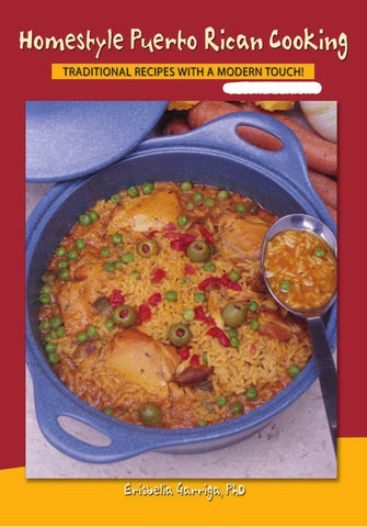 Homestyle Puerto Rican Cooking (English) Fifth Edition Book - MyBorinquen.com Web Store