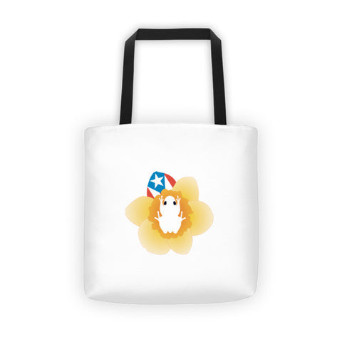 Coqui and Puerto Rico Flag Tote bag Apparel - MyBorinquen.com Web Store