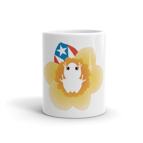 Coqui and Flag Mug