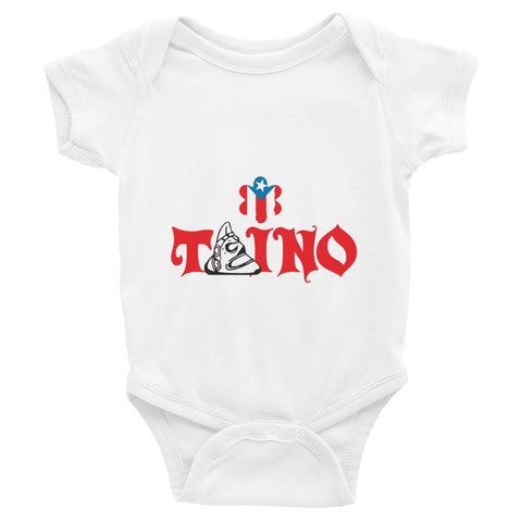 Taino and Puerto Rico Flag. Infant short sleeve one-piece Infant/Toddler - MyBorinquen.com Web Store